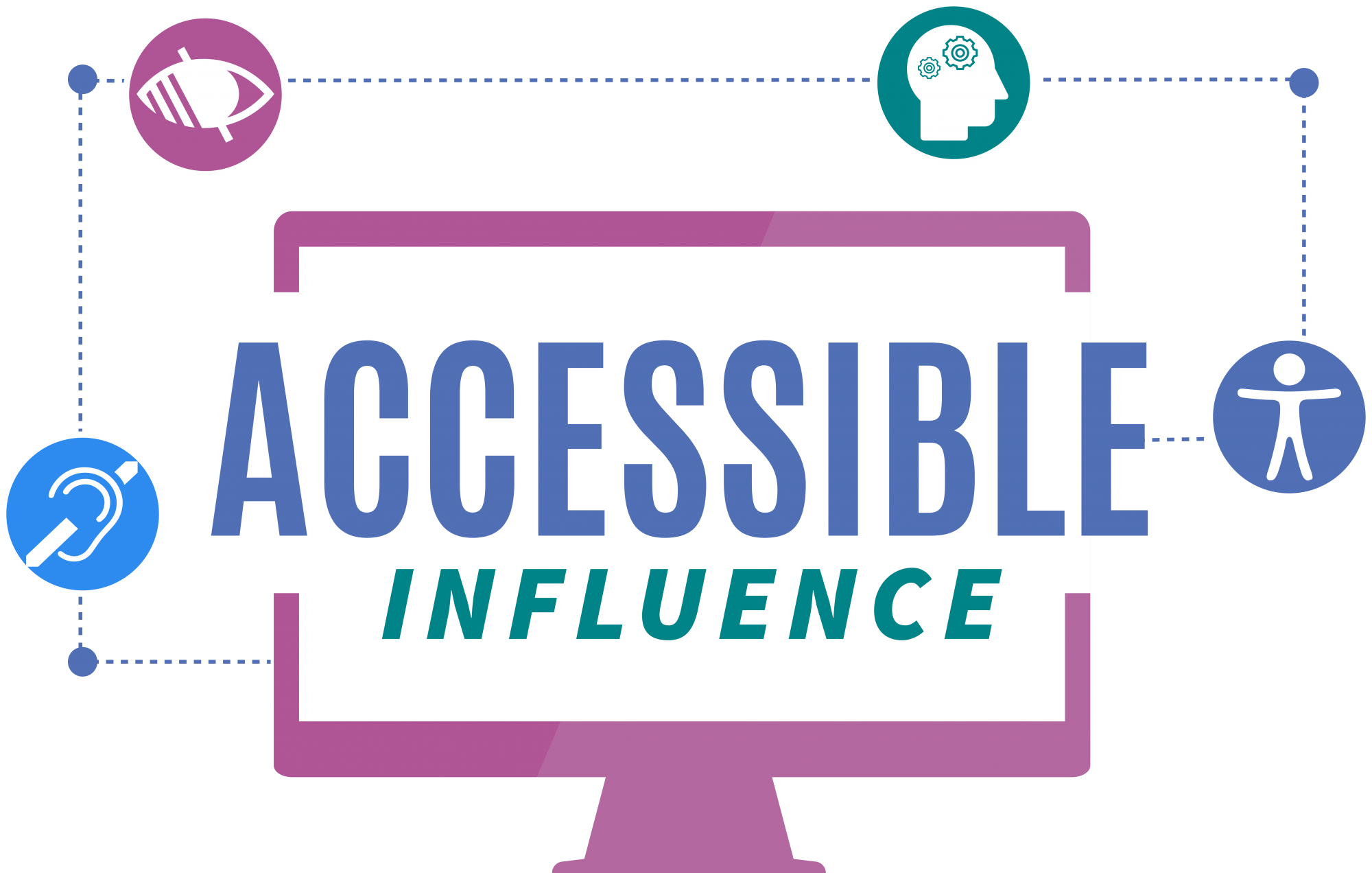 Accessible Influence Logo
