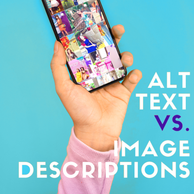Alternative Text vs. Image Descriptions for Instagram