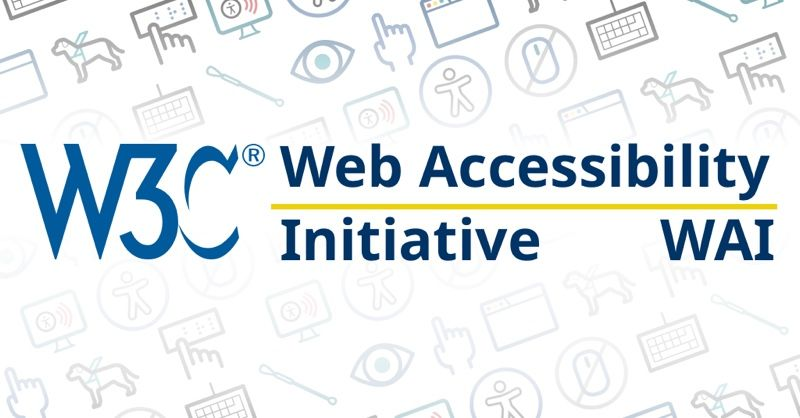 Web Accessibility Initiative logo